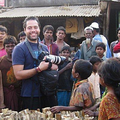 Professional award-winning photographer Francisco de Souza