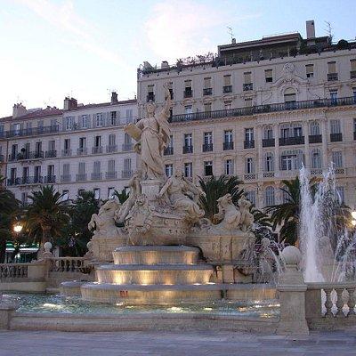 Fontaine de la Place de la liberté à Toulon