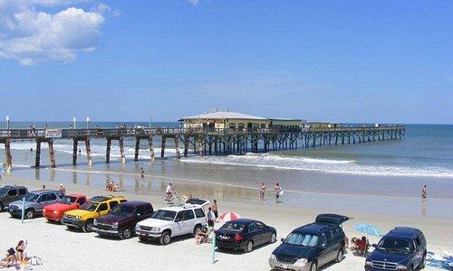 Sunglow Fishing Pier in Daytona Beach Shores