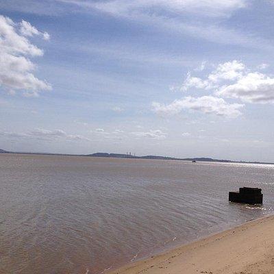 Guaíba visto do Calçadão de Ipanema