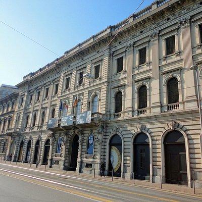 fachada do Palazzo zuckermann