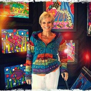 Cindy Coats, artist and owner of The Cindy Coats Gallery