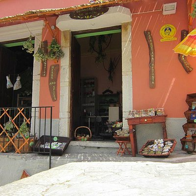 the best herbs and spice shop in symi