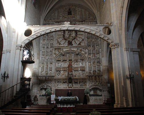 Maravilloso retablo San Nicolas de Bari