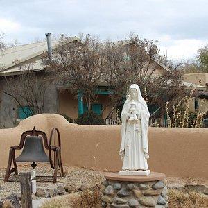 Ranchos de Taos Plaza, Ranchos de Taos, NM Nov 2014