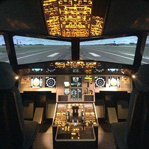 A320 Flight Deck