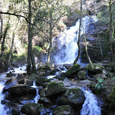 Cabreia waterfall.