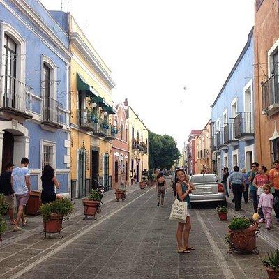 Streets of Puebla