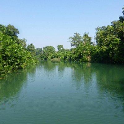 Boating in Maila Naala