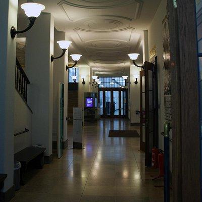 Een van de autentieke gangen.