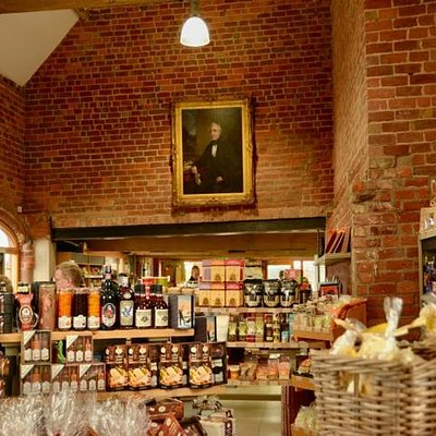 Interior of Apley Farm Shop