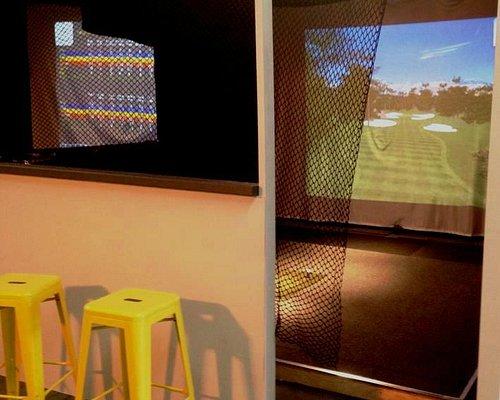 Golf Simultor at Inverloch Indoor Golf