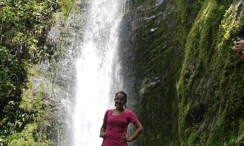 Cascada cerca de vilcabamba