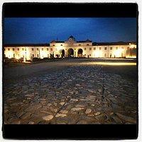 strada romana sullo sfondo Foro boario