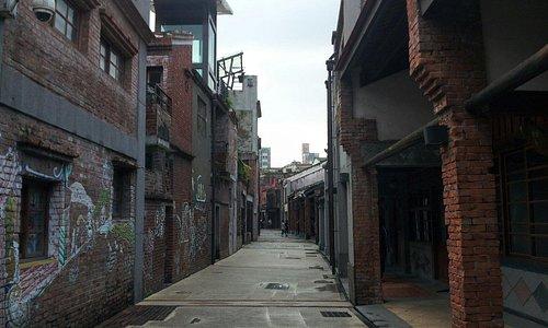昔の台北を忍ぶ街並みです。