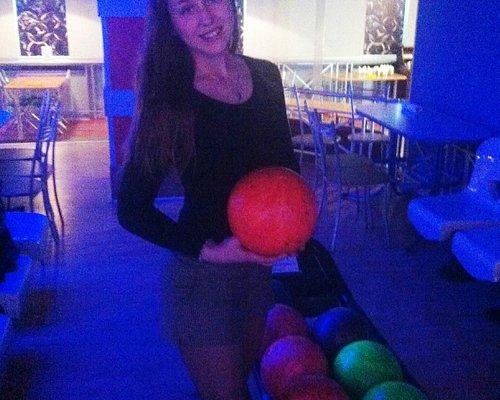 В боулинг-клубе