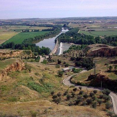 View from Espolón mirador, Toro