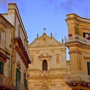 Martina Franca's stunning Basilica di San Martino.