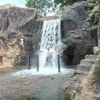 The Beautiful Manimuthar Waterfalls