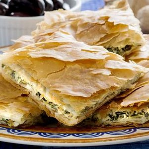 Greek Cooking classes Athens Spanakopita (spinachpie)