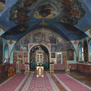 Внутреннее убранство Трапезной церкви