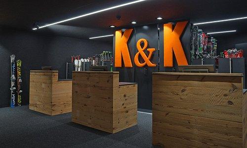 K&K Sports Urthaler Ski Rental Restyling