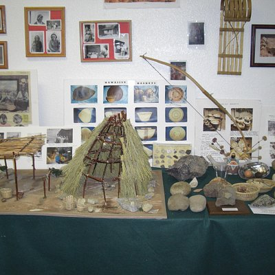 museum before the trip to the indiansite
