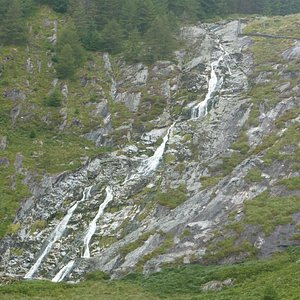 Glenmacnass Waterfall After Some Dry Weather