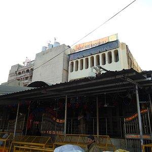 Street view of the temple complex.