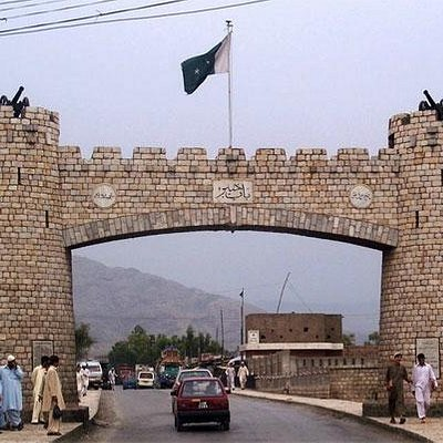 Bab I Khyber is Gate of Khyber Pass and is Icon of Peshawar