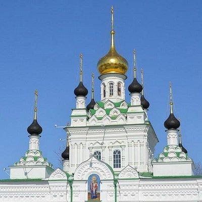 Храм Иверской иконы Божией Матери.