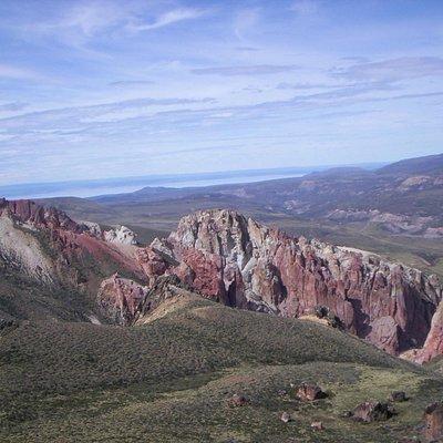 Vista hacia el Norte desde la Cueva.