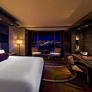 Rooms offer Strip views