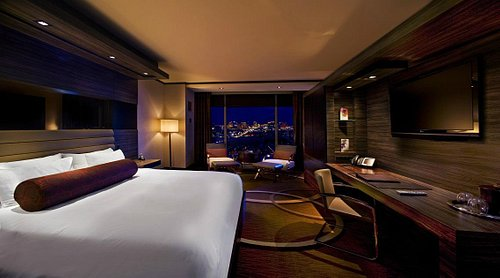 Rooms offer Strip views