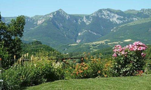 The view from the garden of Casa Carotondo