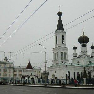 Собор, вид с Первомайской улицы