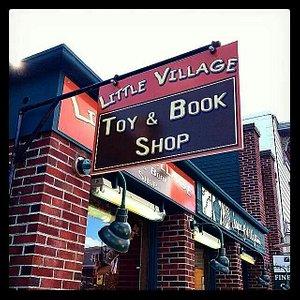 Best toy & book shop around.