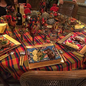 Delores's beautiful table!