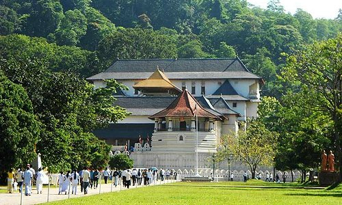 Kandy Temple of Sacred tooth relic
