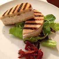 Sandwich al baccalà mantecato