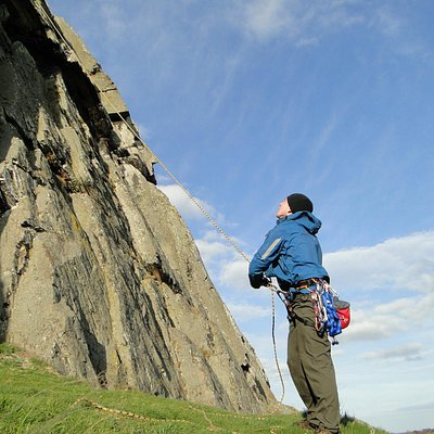 Keeping people safe, an instructors from Climb Scotland