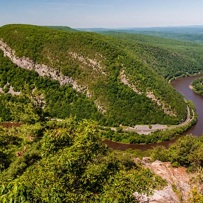 View from the Top of Mt Tammany