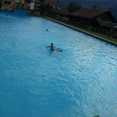 Wengen's Only Swimming Pool