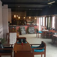 Great Coffee and nice Thai iced tea with peaceful and cosy place for having a chat with friends