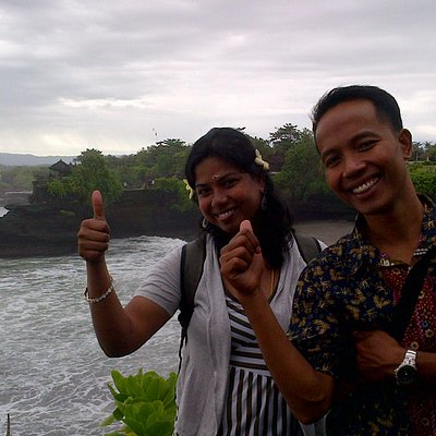 rain in tanah lot