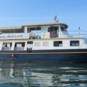 The all NEW Stingray Divers day boat, the 'MV Destiny'.