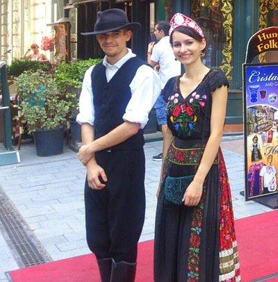 Budapest - Folk Art - traditional costume