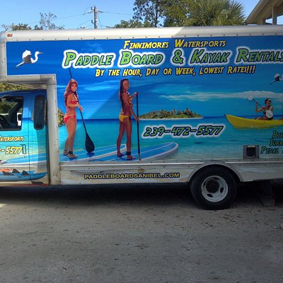 One of our Watersport delivery trucks.