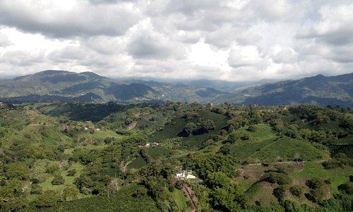 Cordillera andina del eje cafetero