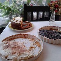 home made desserts to die for !!!